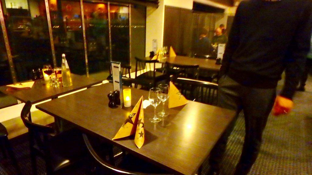 DFDSシーウェイズ レストラン ディナー