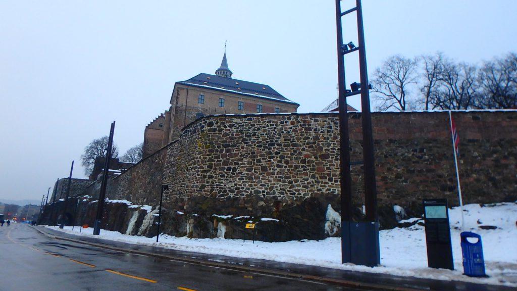 ノルウェー アナと雪の女王 お城 モデル