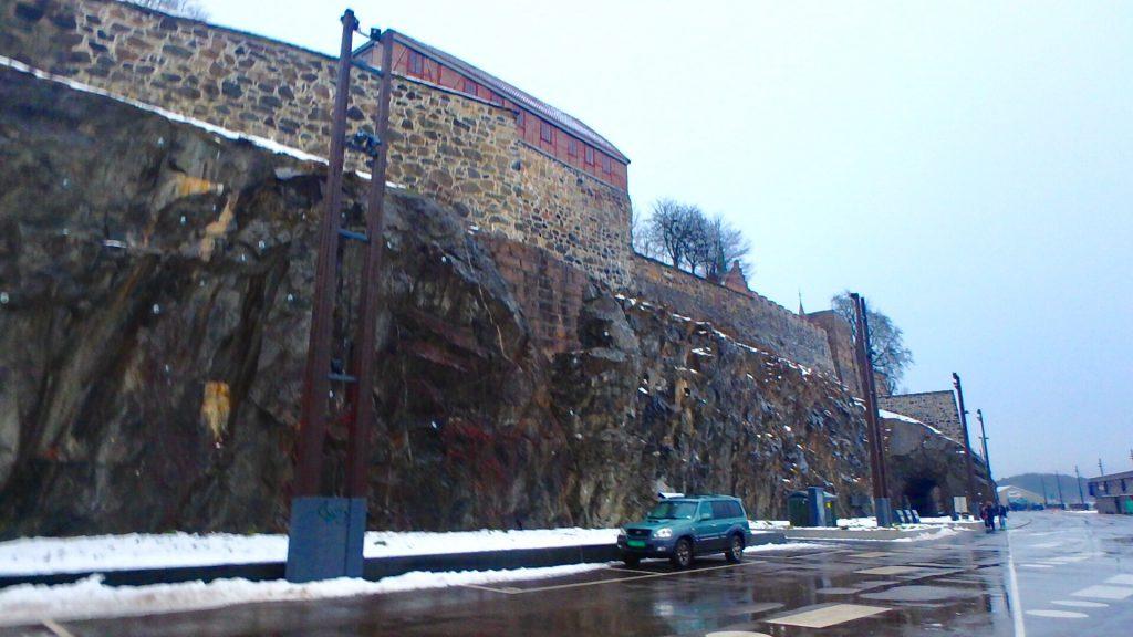 ノルウェー オスロ アーケシュフース城 アナ雪