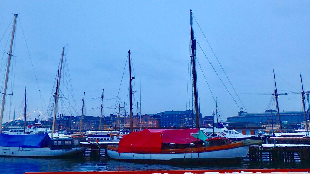 ノルウェー オスロ 港 ヨットハーバー