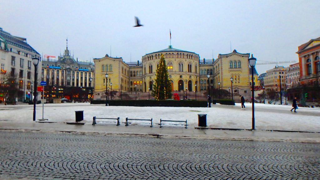 ノルウェー オスロ 国会議事堂