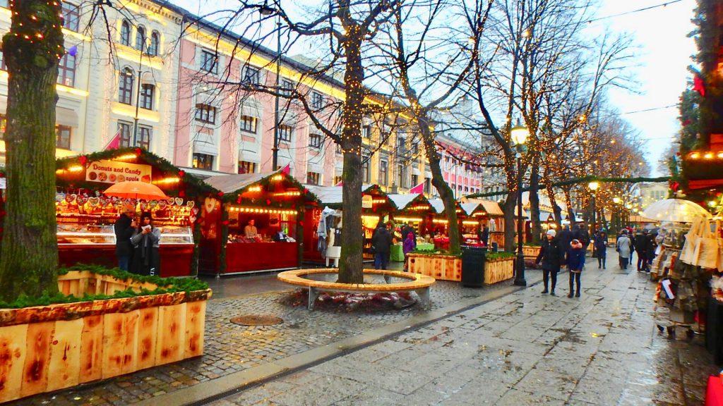 ノルウェー クリスマスマーケット