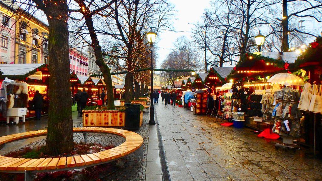 オスロ クリスマスマーケット
