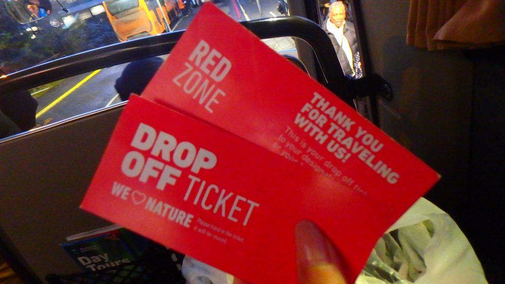 レイキャビク バス DROP FFF チケット