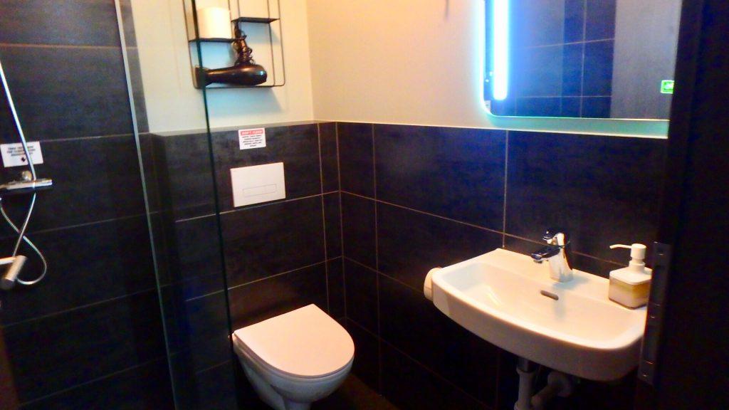 レイキャビク ホテル シャワー トイレ