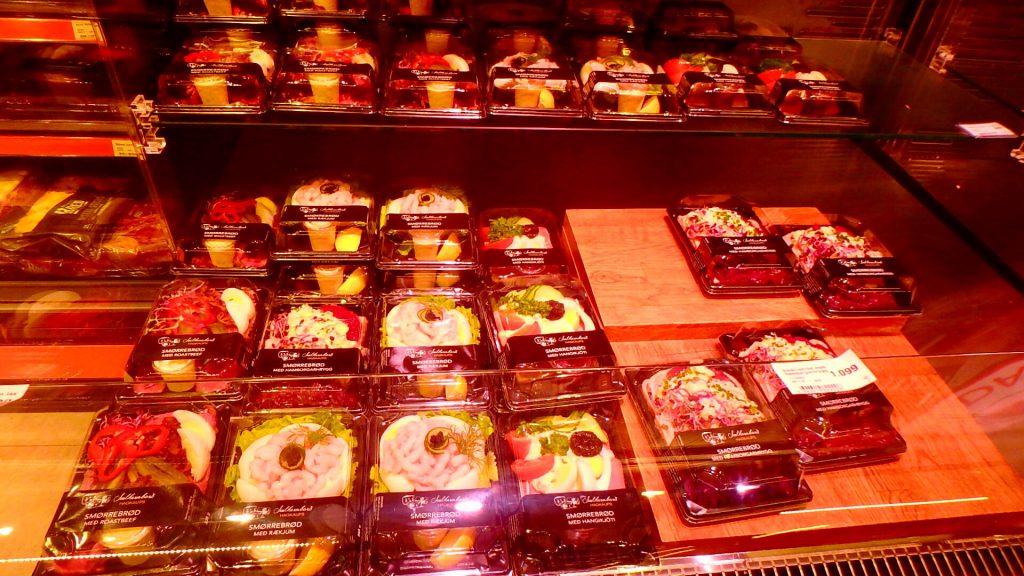 アイスランド レイキャビク スーパー お惣菜 お弁当