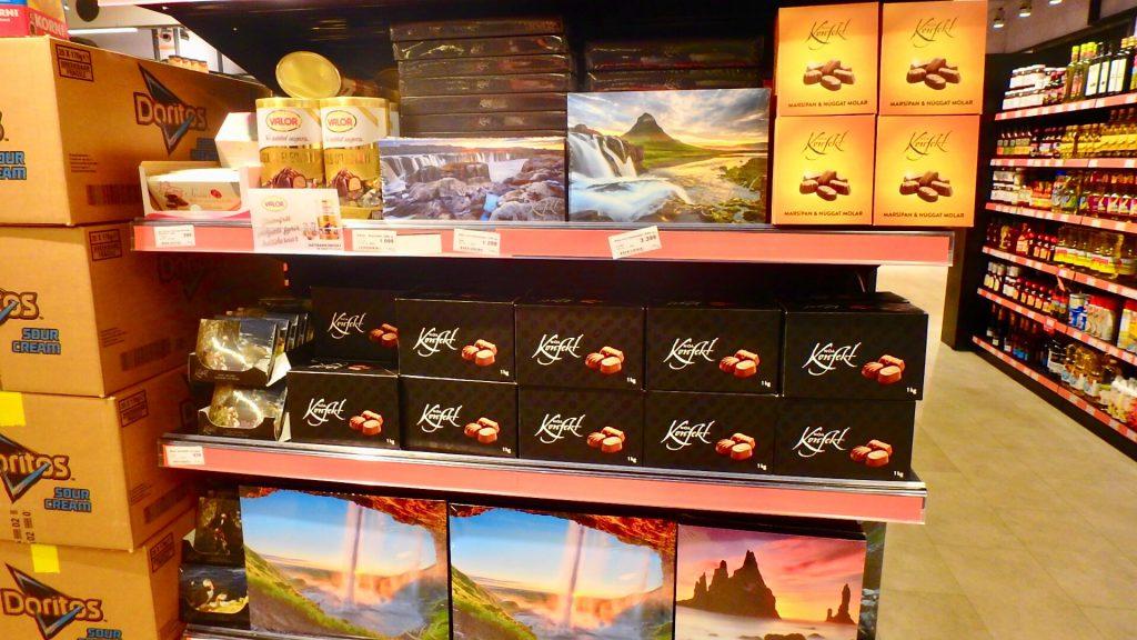 アイスランド レイキャビク スーパー お土産