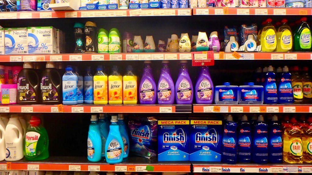 アイスランド レイキャビク スーパー 食器用洗剤