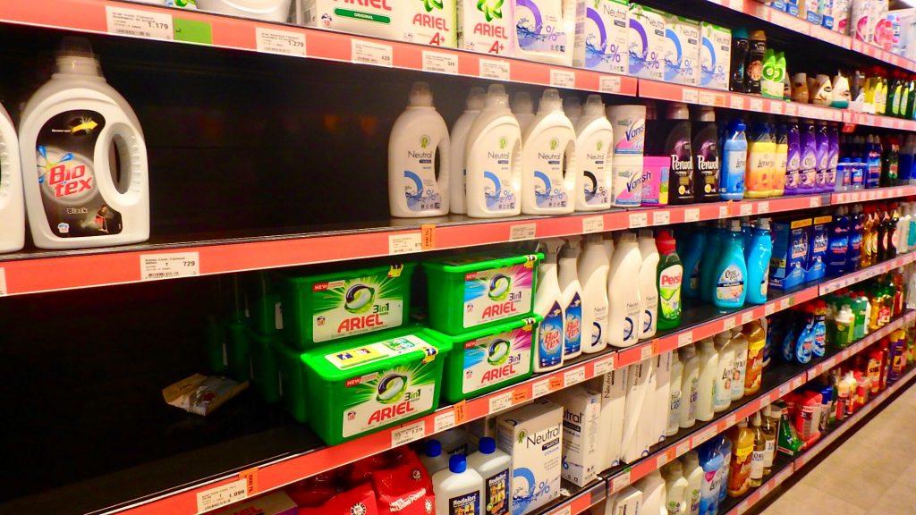 アイスランド レイキャビク スーパー 洗剤