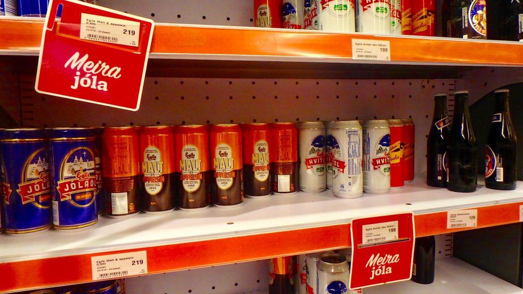 レイキャビク スーパーマーケット お酒