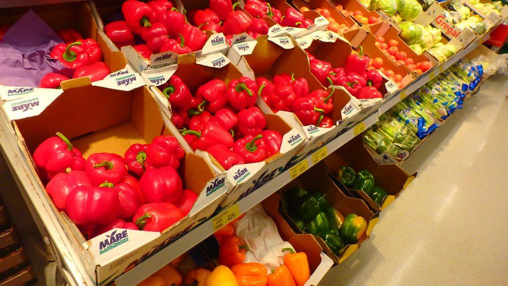 アイスランド スーパー 野菜