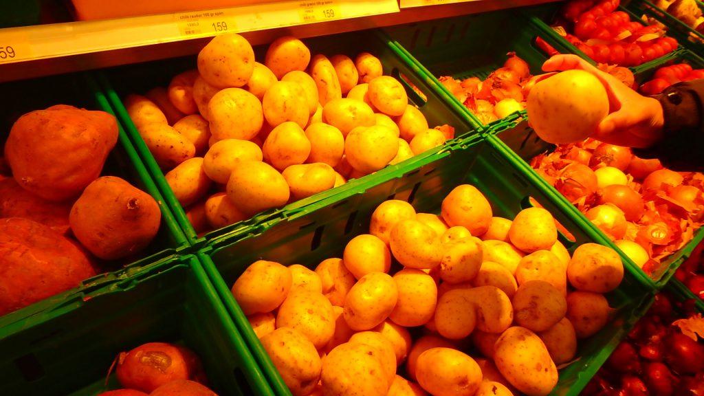 レイキャビク スーパー 野菜