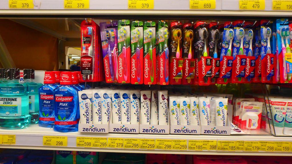 アイスランド スーパー 歯ブラシ