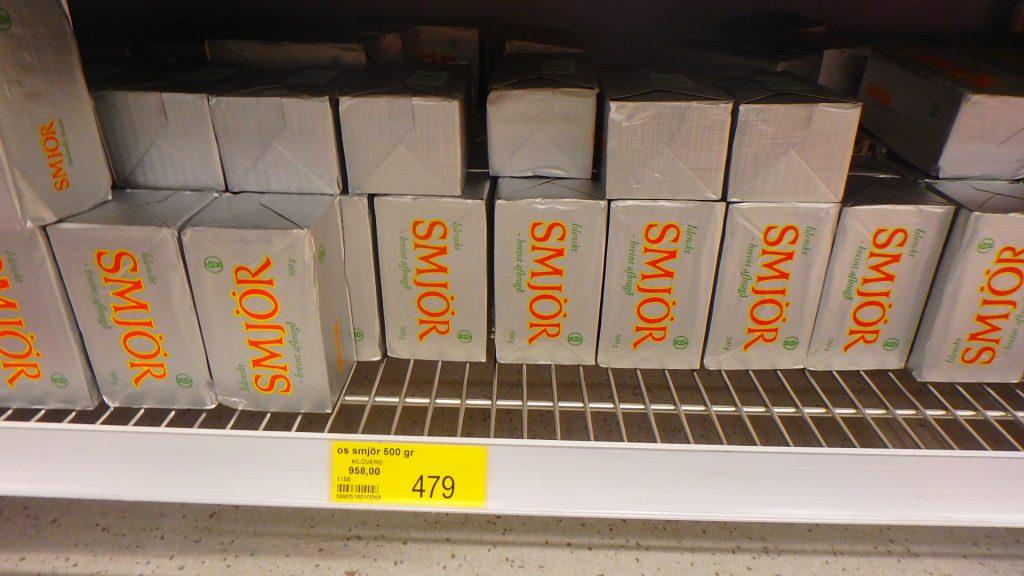 アイスランド バター SMJOR スーパー