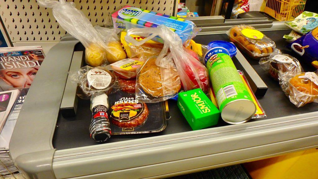 レイキャビク市内 スーパー 買い物