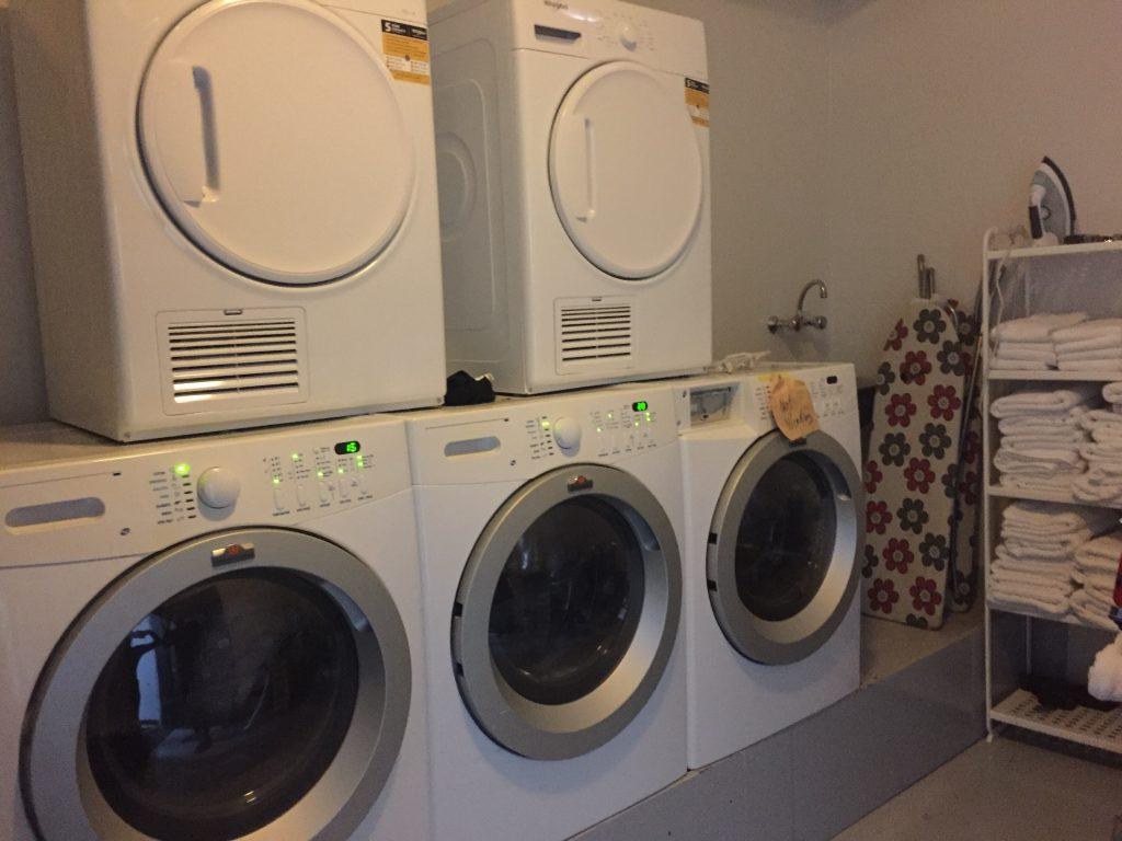レイキャビク ホテル 洗濯機付き