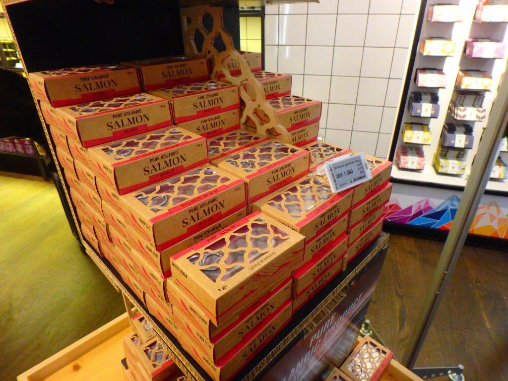 アイスランド お土産 サーモン