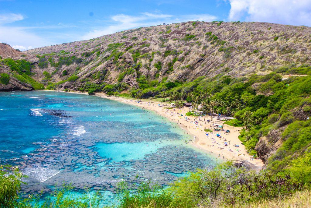 ハワイ生活 ホームステイ ビーチ