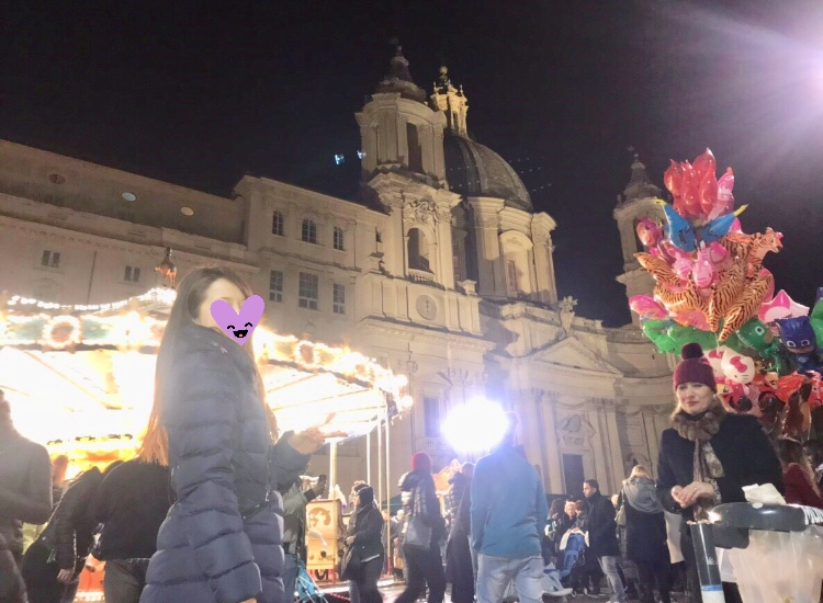 ローマ クリスマス ブログ