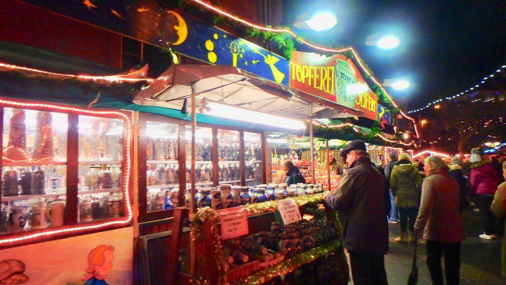 フランクフルト クリスマスマーケット お店