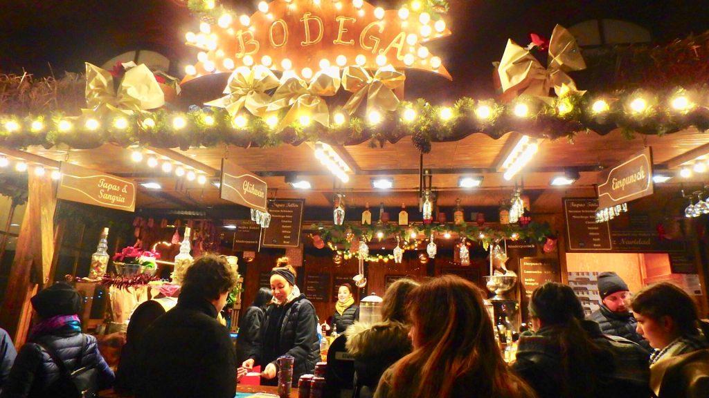 フランクフルト クリスマスマーケット ホットワイン