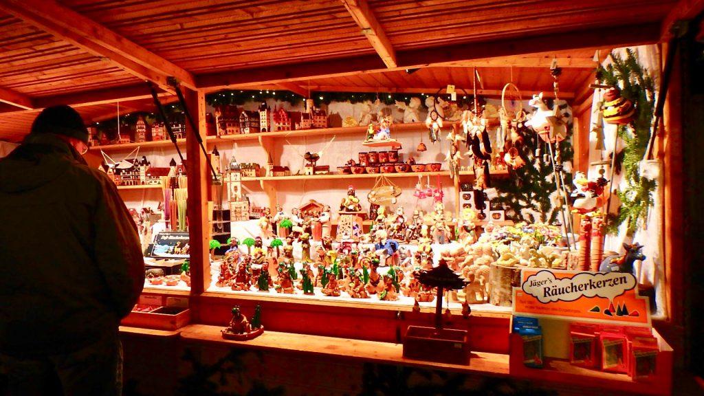 フランクフルト クリスマスマーケット 屋台