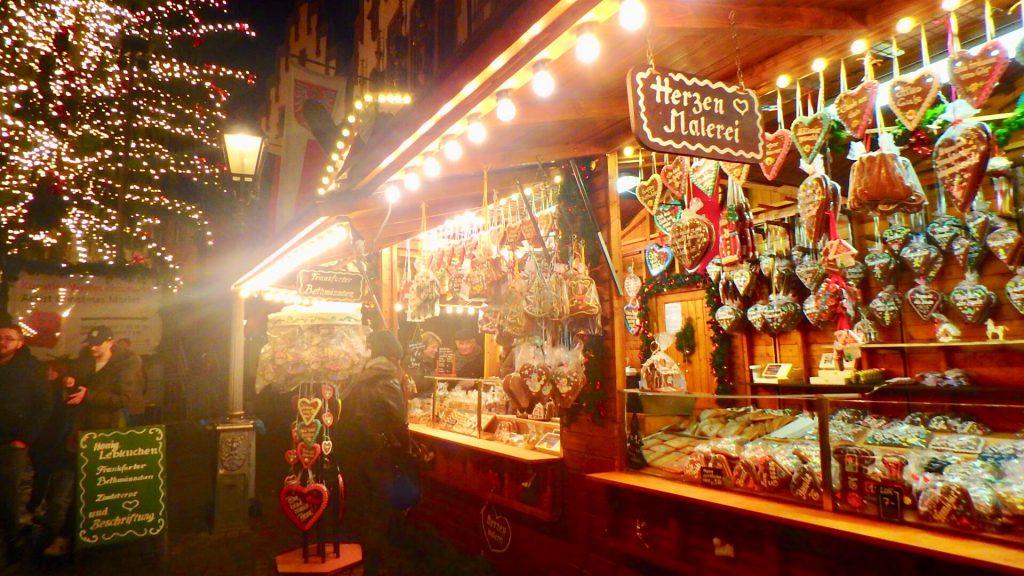 ドイツ クリスマスマーケット クッキー チョコ