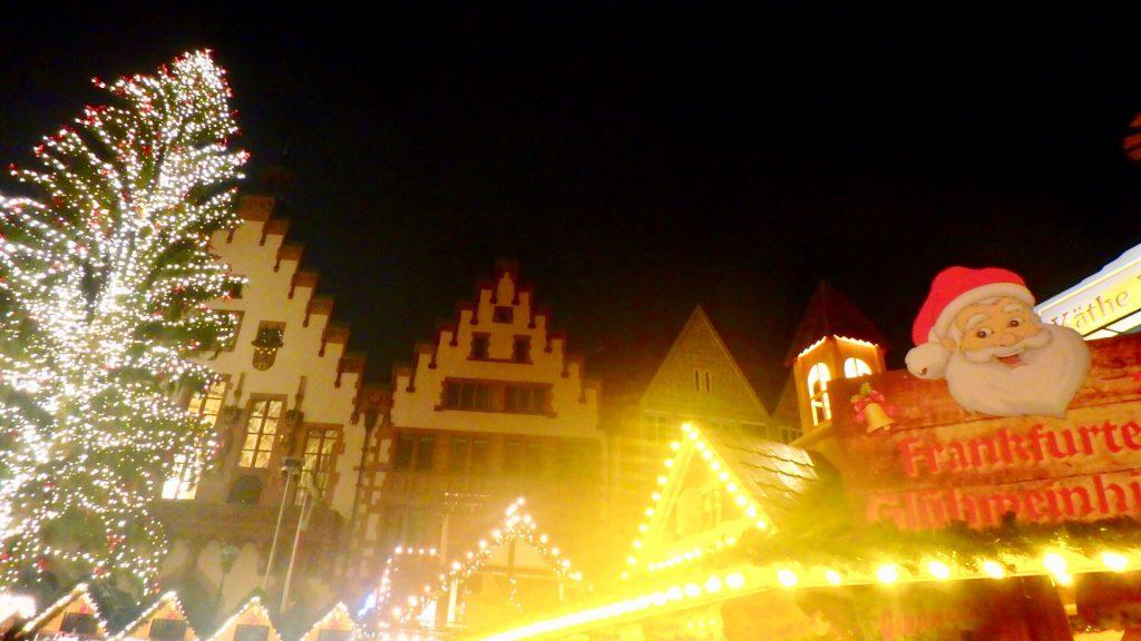 フランクフルト レーマー広場 クリスマス