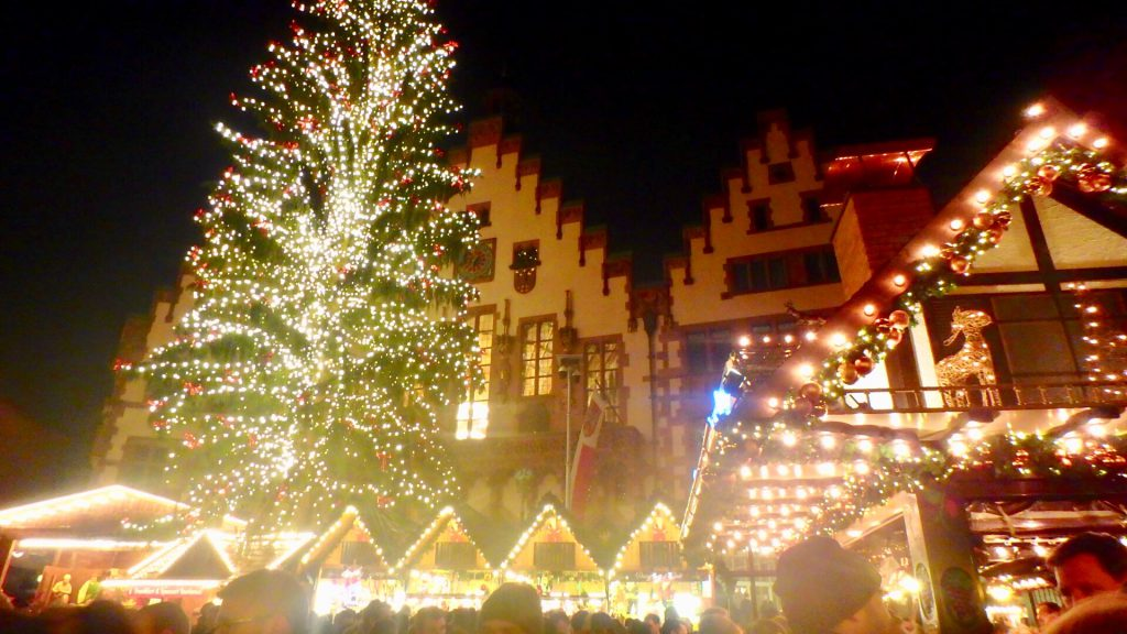フランクフルト レーマー広場 クリスマスマーケット