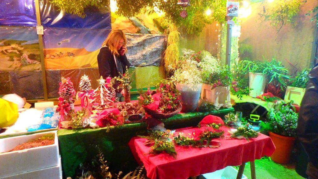 サグラダ・ファミリア クリスマスマーケット 出店