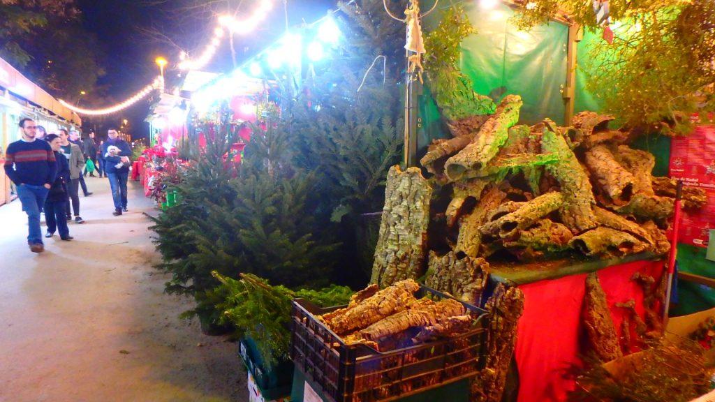 サグラダ・ファミリア クリスマスマーケット 屋台