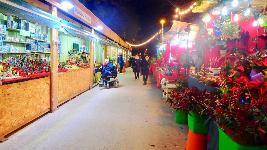 サグラダ・ファミリアのクリスマスマーケット