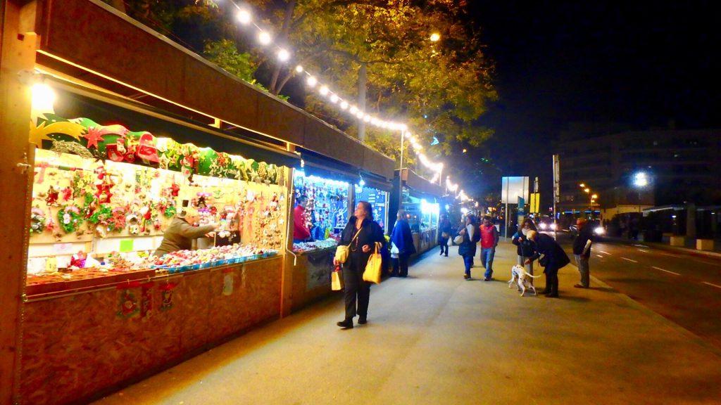 サグラダファミリア クリスマスマーケット
