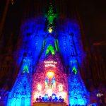 サグラダファミリアのクリスマスイルミネーション&特別ライトアップが綺麗!