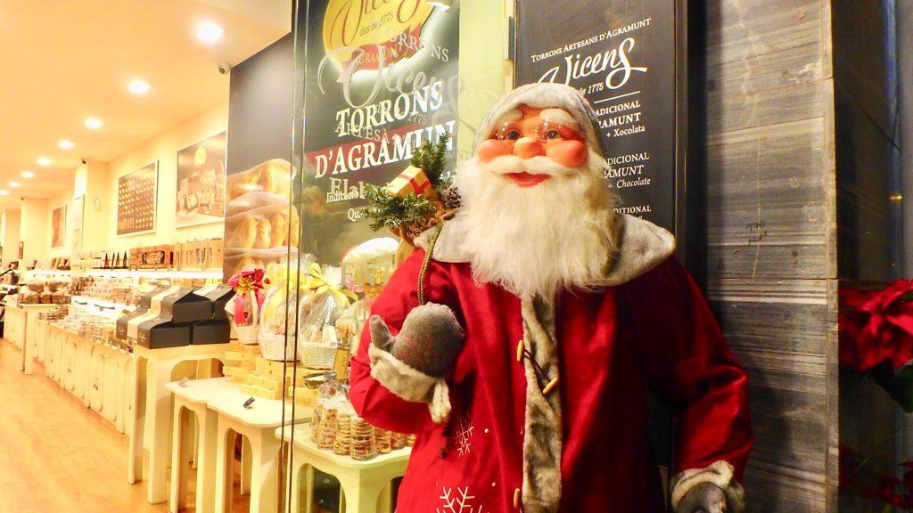 バルセロナ クリスマス サンタさん