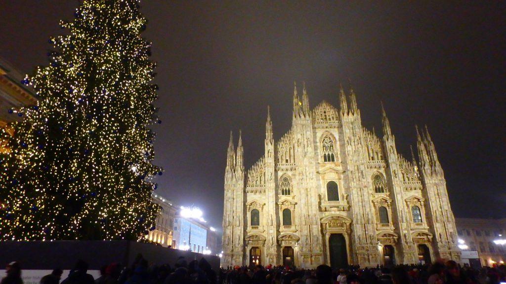 ミラノ クリスマス ドゥオーモ