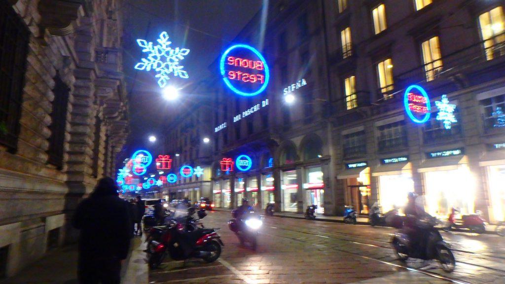 ミラノ クリスマス旅行