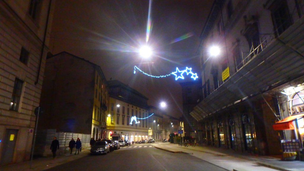 ミラノ クリスマス 街中 市内