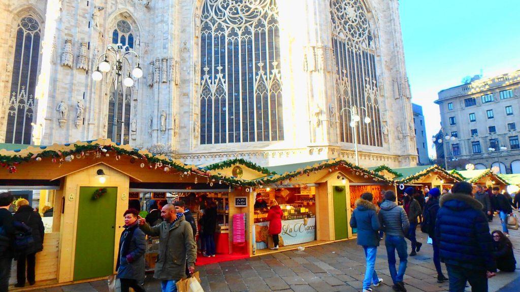 ミラノ クリスマスマーケット ブログ