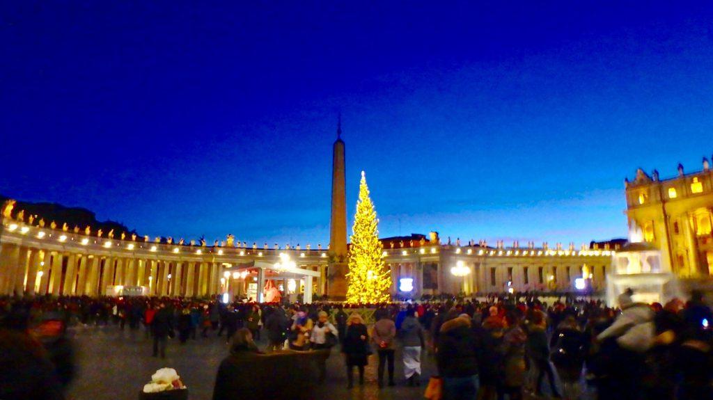 バチカン市国 クリスマス
