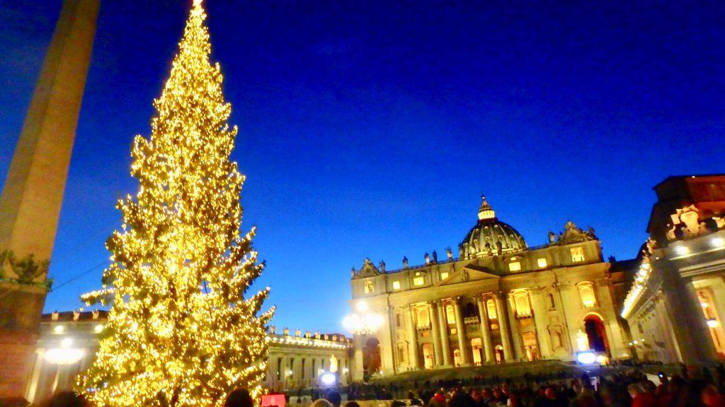バチカン市国 クリスマス ブログ