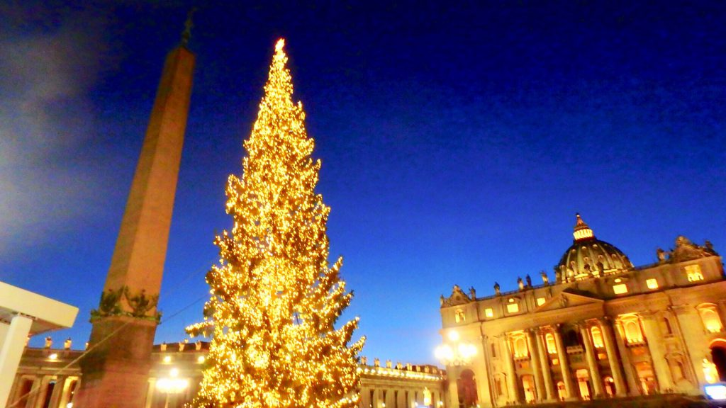 バチカン市国のクリスマス