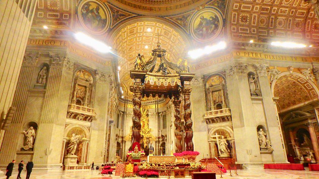 サン・ピエトロ大聖堂 クリスマス