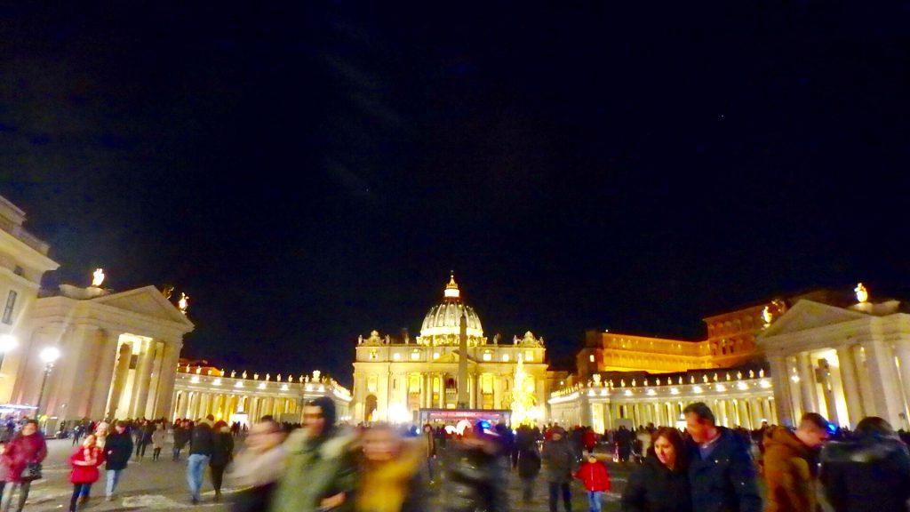 クリスマス当日 バチカン市国 旅行 ブログ