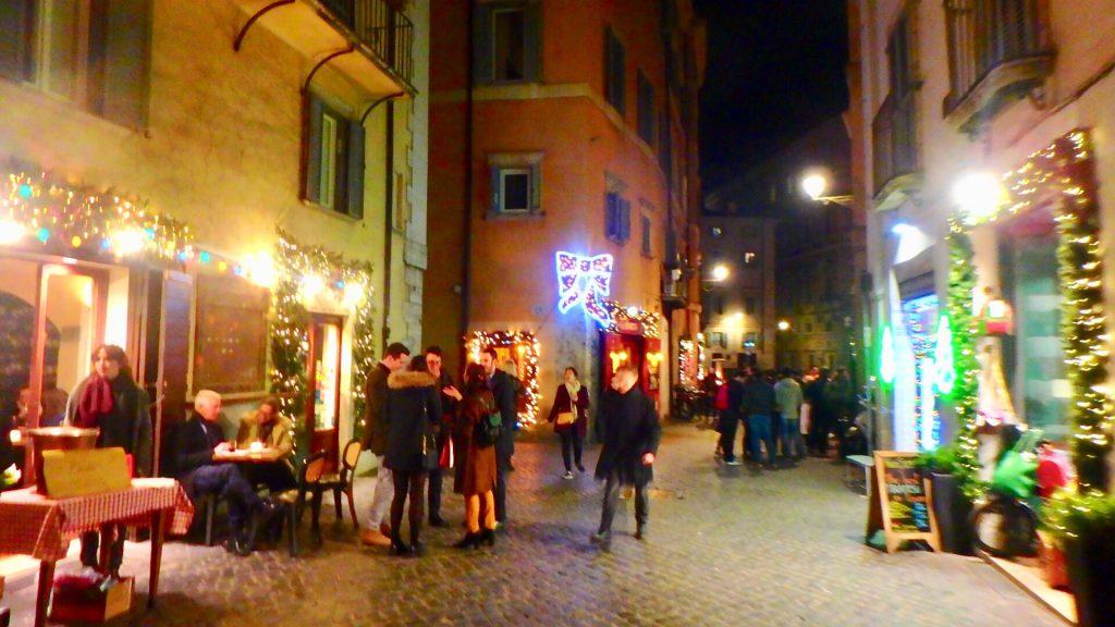 ローマ市内 クリスマス当日