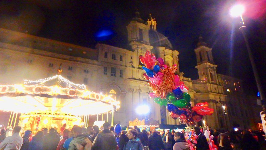 ローマ クリスマスマーケット