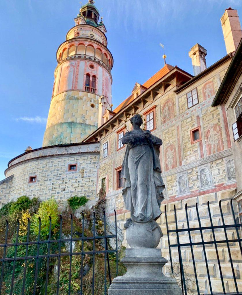 チェスキークルムロフ城の塔