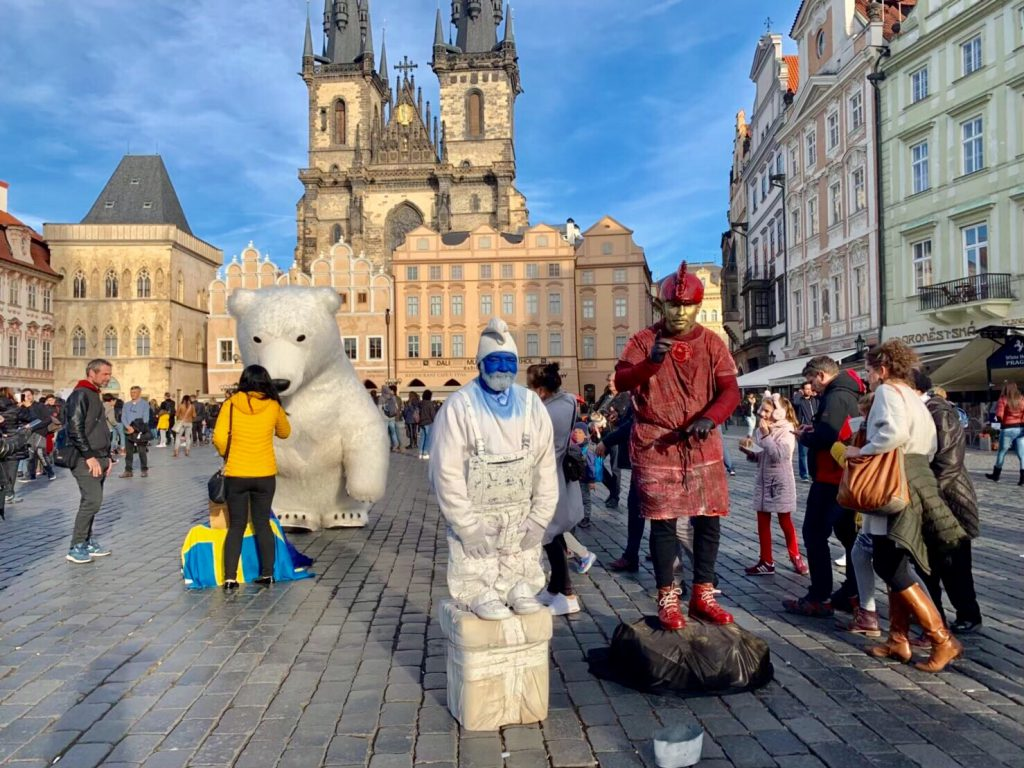プラハ 旧市街広場 旅行記