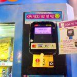 スペイン バルセロナ 自動販売機 クレジットカード