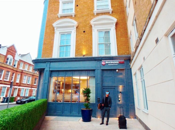 ロンドン ホテル ブログ